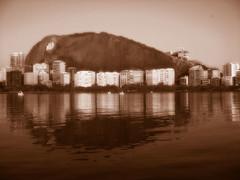 Lagoa Rodrigo de Freitas (anacherullo) Tags: photoshop canon a610 toning