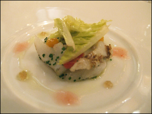 Le Bernardin (New York) - Grilled Salt Cod Salad