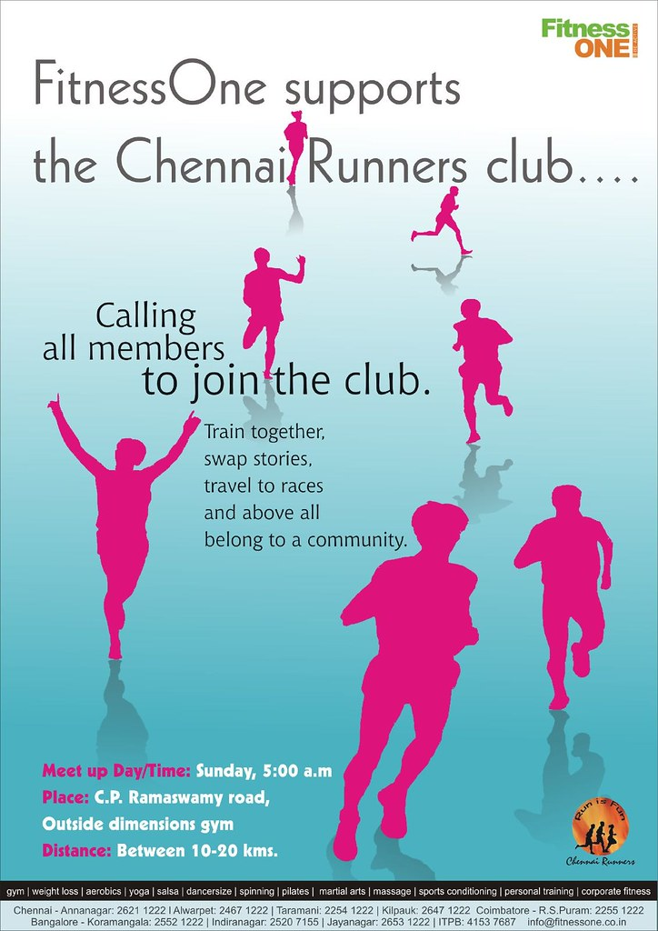 ChennaiRunners Poster