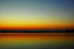The Original Twilight. (BamaWester) Tags: sky lake reflection water twilight alabama decatur bamawester napg abigfave goldenphotographer