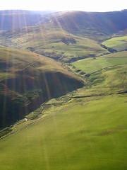 A lil bit of heaven (Elusive_Shad0w) Tags: scotland scenery heaven hills hotairballoon sunbeams