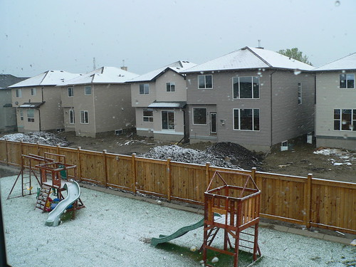 Snow on May 21, 2007