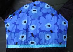 Blue Flowers Mei Tai IV