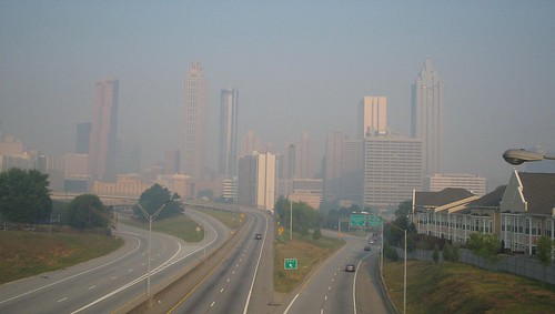Atlanta Skyline - 22 May 2007 am