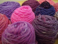 Hand Dyed Palette yarn