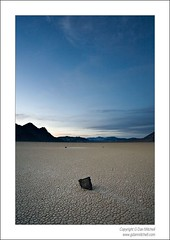 Dusk, The Race Track - Death Valley National Park (G Dan Mitchell) Tags: california sky usa racetrack nationalpark desert dusk playa deathvalley travelphotography landscapephotography colorphotograph induro gdanmitchell