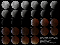Lunar Eclipse 3rd March 2007 (shish0r) Tags: moon lune canon eos 350d eclipse space satellite astro luna craters telescope crater astronomy universe espace solarsystem astronomie univers cratre cratres systmesolaire