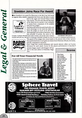 Hibernian vs Clydebank - 1989 - Page 24 (The Sky Strikers) Tags: hibernian hibs clydebank skol cup road to hampden easter matchday magazine one pound