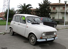 1987 Renault 4 (Alessio3373) Tags: renault renault4 oldcars autoshite youngtimers