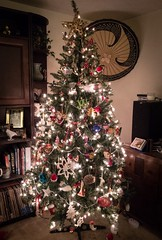 12/8/16 O Christmas Tree (Karol A Olson) Tags: christmastree ornaments christmas dec16 project3662016 livingroom