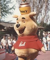 DISNEYWORLD FLORIDA 1984 017 (hytam2) Tags: bear mouse duck orlando florida magic kingdom disney mickey donald parade disneyworld honey winniethepooh hunny