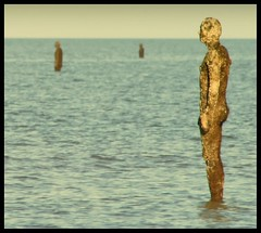 Another Place (andrewlee1967) Tags: uk england sky water statue liverpool landscape seaside merseyside anotherplace andrewlee gapc gormleystatues ef90300mm canon400d andrewlee1967 anawesomeshot impressedbeauty focusman5