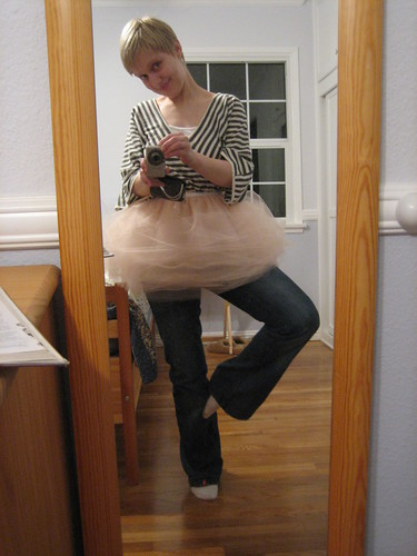 modeling the tutu - not breathing