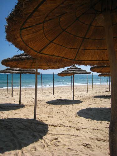 Beach hotel Nahrawess, Hammamet, Tunisia