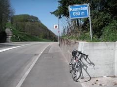 Passhöhe Unterer Hauenstein