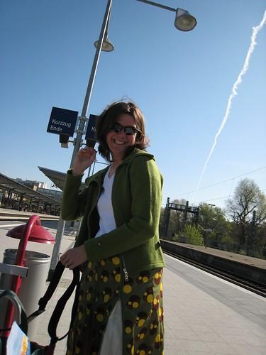 Kera On S-Bahn Platform - Berlin