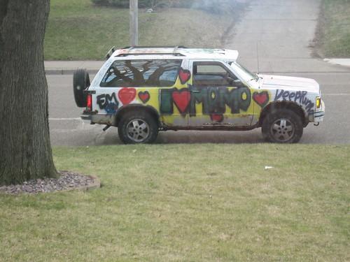 weird car