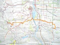 e-w bus route 1