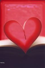 My Book (Banafsaj_Q8 .. Free Photographer) Tags: book heart kuwait kw q8 kuw banafsaj