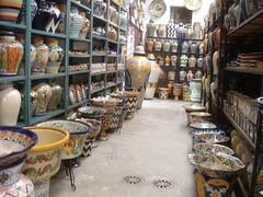 Talavera pottery in Dolores Hidalgo
