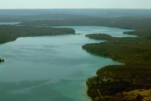 Walloon Lake - Aerial View