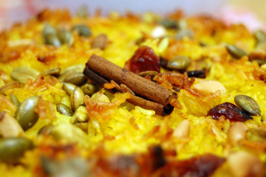 Biryani-inspired rice