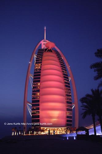 Jumeirah Burj Al Arab by jens kuhfs.