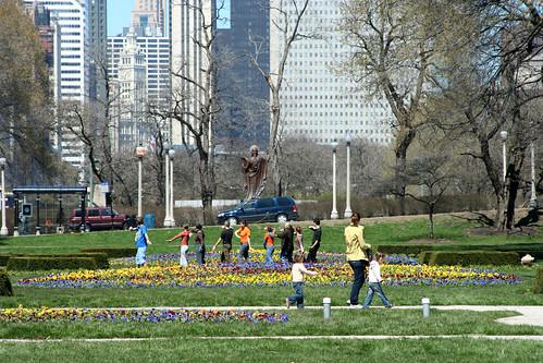 Day in Grant Park