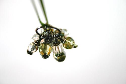 Verdant Cluster necklace