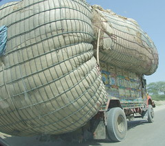 Greedy Truck Driver (welltaken pictures) Tags: pakistan india truck dangerous funny joke picture heavy load mashallah