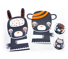 Serigraphied Stikers! (malota) Tags: shop illustration drawing character stickers dibujo pegatinas malota personaje ilustracin malotashop