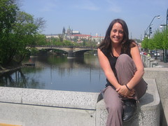 Sheri in Prague