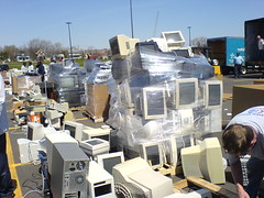 E-waste recycling in Ann Arbor