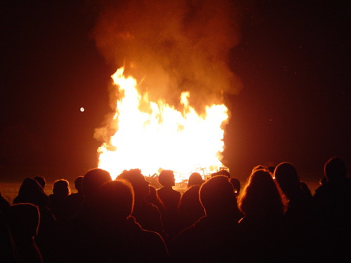 Guy Fawkes night in Oxford