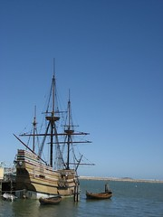 Mayflower II in Plymouth, MA