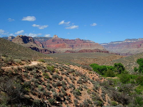 Entering the Tonto Plateau