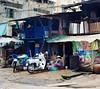 Bikewash (JanneM) Tags: street blue jan vietnam chi sit ho minh saigon morén moren janmoren janmorén