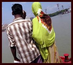 Ferryride to Chandpal Ghat_1263_a (shyamalchatterji) Tags: cellphone calcutta theganges beginnerstreetphotography