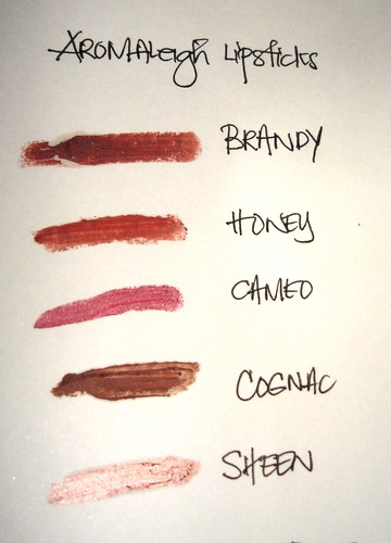 aromaleigh lipsticks