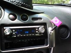 shuffle in the car