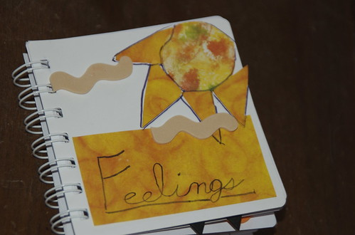 Feelings book: cover