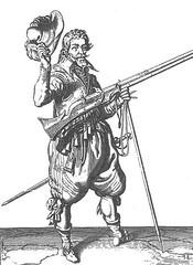Musketeer (Jacob de Gheyn)
