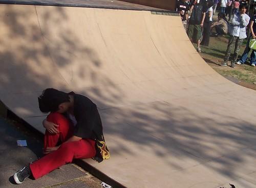 Midi skateboarding