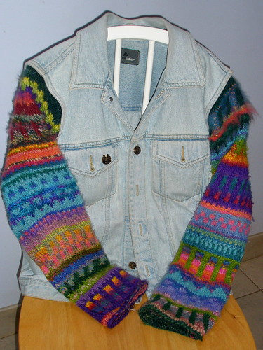 denim vest jacketP5020028