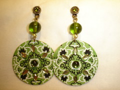 brinco bandana (Simone Dias Artes) Tags: fashion moda bijoux brinco earing tecido bijuterias acessorios bijouterias bijouteriasexclusivas
