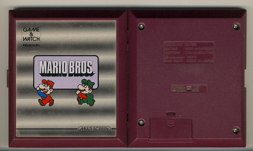 Mario Bros. Game & Watch [3/3]