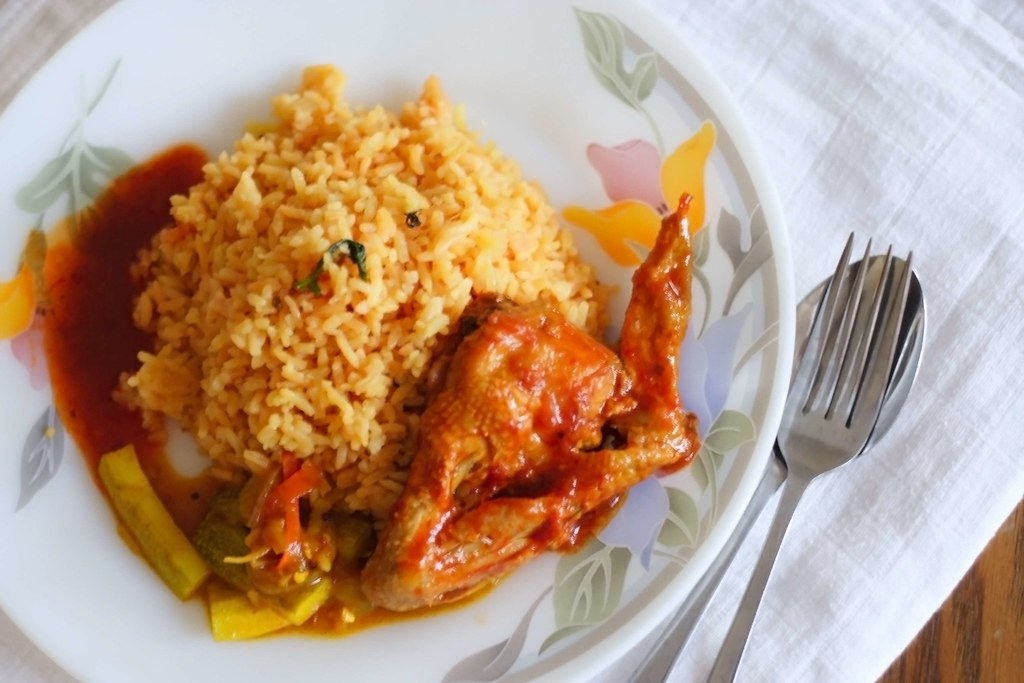 Malay-style Tomato Rice