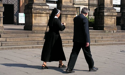 Krakow Couple - Nun and Priest!
