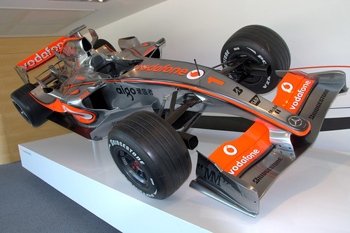 The fast Mclaren formula1 (f1) cars