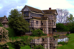 Tudor (sunny-drunk) Tags: england reflection building history cheshire tudor imagination littlemoretonhall hahahahahahahaha 35faves abigfave